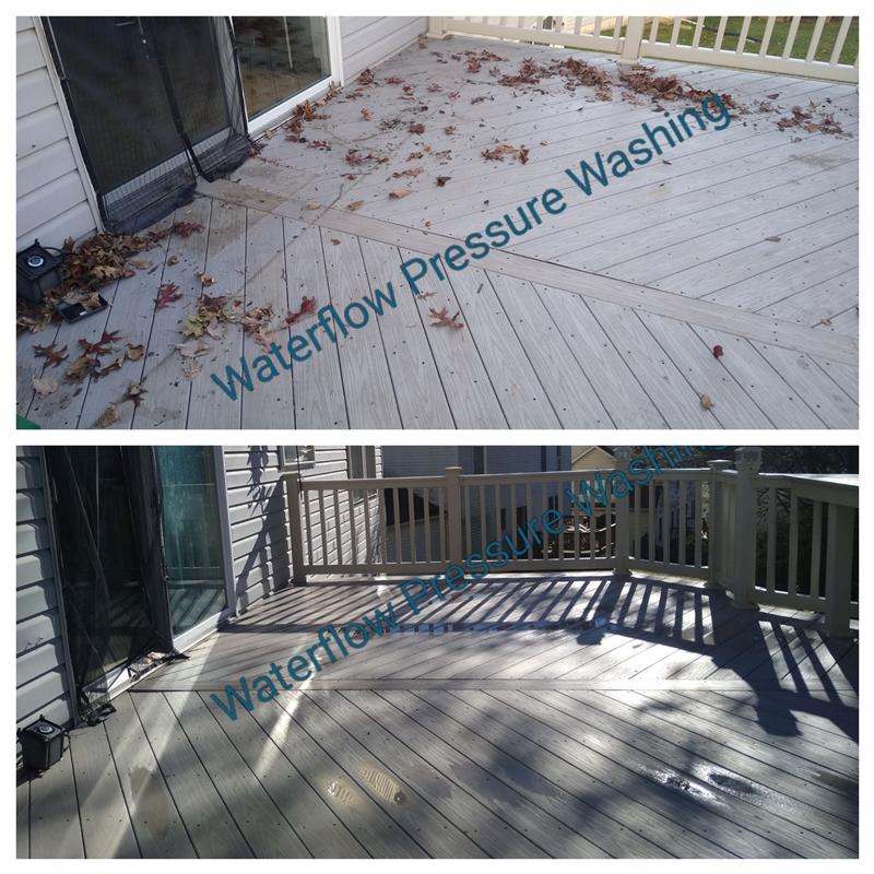patio pressure washing   Waterflow Pressure Washing